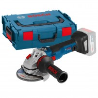 Bosch GWS 18V-125 SC Brushless Angle Grinder Body Only in L-Boxx 125mm / 5""