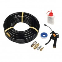 Bostitch CPACK15 15m Air Hose with Blow Gun, Connectors & Oil