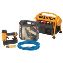 Bostitch MRC6/BT-U Compressor and Brad Nailer Combo Kit 240v