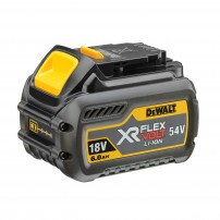 DeWalt DCB546 XR FLEXVOLT Convertible 18v/54v Lithium-Ion 6.0Ah Battery