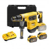 DeWalt DCH481X2-GB 54v XR FLEXVOLT Cordless Brushless SDS MAX Hammer Drill inc 2x DCB547 Batts