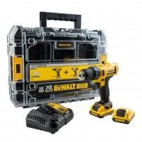 DeWalt DCD710D2 10.8v XR Drill Driver inc 2x 2.0Ah Batts in TSTAK Case