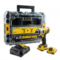 DeWalt DCF815D2 10.8v XR Impact Driver inc 2x 2.0Ah Batts in TSTAK Case