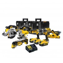 DeWalt DCK665P3T 18v XR Cordless 6 Piece Power Tool Kit inc 3x 5.0Ah Batts