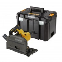 DeWalt DCS520NT 54v XR FLEXVOLT Cordless Brushless Plunge Saw Body Only in TSTAK Carry Case