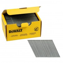 DeWalt DNBA1663GZ 16 Gauge 63mm 2nd Fix Galvanised Angled Brad Nails 2500 Pcs