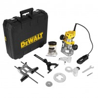 "DeWalt D26204K 1/4"" Combination Plunge & Fixed Base Router 900w"