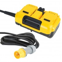 DeWalt DCB500-LX 110v Mains Adapter for 2x54V XR FLEXVOLT Mitre Saws
