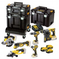 DeWalt DCK654P3T 18v XR Cordless 6 Piece Power Tool Kit inc 3x 5.0Ah Batts