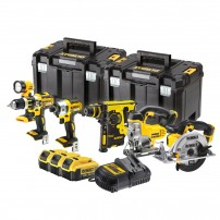 DeWalt DCK699M3T 18v XR Cordless 6 Piece Power Tool Kit inc 3x 4.0Ah Batts