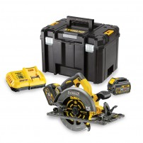 DeWalt DCS576T2-GB 54v XR FLEXVOLT Cordless Brushless 190mm Circular Saw inc 2x DCB546 Batts