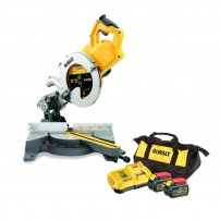 DeWalt DCS778T2-GB 54v XR FLEXVOLT Cordless Brushless 250mm Mitre Saw inc 2x DCB546 Batts