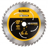 DeWalt DT99574-QZ eXtreme Runtime 305mm x 30mm x 42T Mitre Saw Blade for DHS780