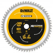 DeWalt DT99575-QZ eXtreme Runtime 305mm x 30mm x 60T Mitre Saw Blade for DHS780