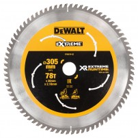 DeWalt DT99576-QZ eXtreme Runtime 305mm x 30mm x 78T Mitre Saw Blade for DHS780