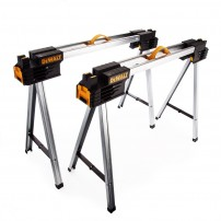 DeWalt DWST1-75676 Folding Sawhorse Twin Pack