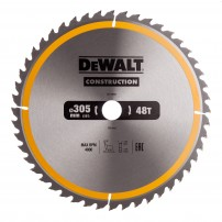 DeWalt DT1959-QZ Circular Saw Blade Construction 305mm x 30mm x 48 Teeth