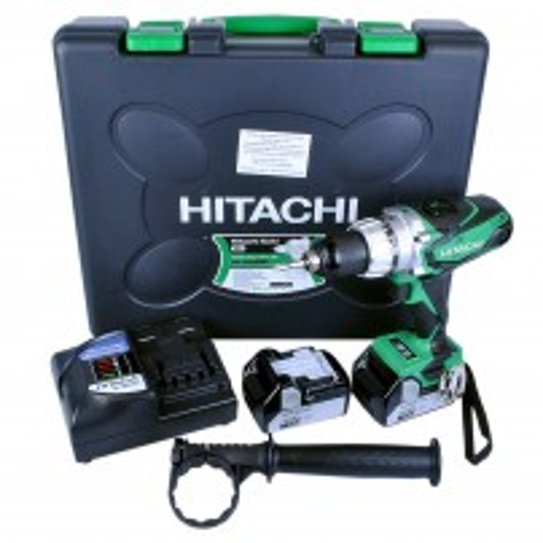 Hitachi DV18DSDL 18v Cordless Combi Drill inc 2x 4.0Ah Li-ion Batts