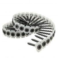 4.2 x 75mm Collated Drywall Screws Drywall to Wood Coarse Thread