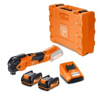 Fein AFMT 12 Q MultiTalent 12v Cordless Multitool inc 2x 2.5Ah Batteries