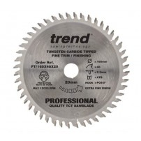 Trend FT/165X48X20 Professional Plunge Saw Blade 165mm x 48 Teeth x 20mm