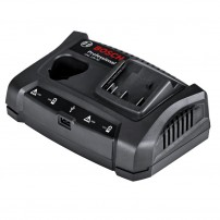 Bosch GAX 18 V-30 12v / 18v Dual Charging Bay with USB Port