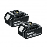 Makita BL1840X2 18v LXT 4.0Ah Li-Ion Battery Twin Pack