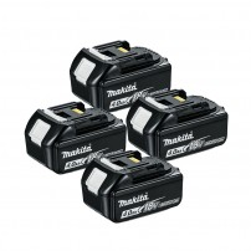 Makita BL1840X4 18v LXT 4.0Ah Li-Ion Battery Quad Pack