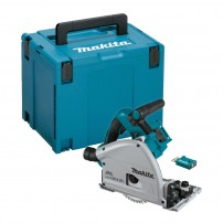 Makita DSP601ZJU Twin 18v LXT Cordless Plunge Saw 165mm Body Only in Makpac Case