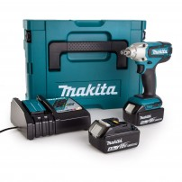 "Makita DTW190RMJ LXT 18v Cordless 1/2"" Impact Wrench inc 2x 4.0Ah Batts"