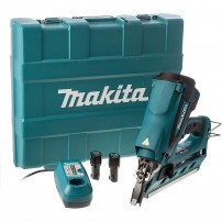 Makita GN900SE 7.2v 1st Fix Framing Gas Nailer inc 2x Batteries in Carry Case