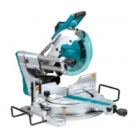 """Makita LS1019L 260mm 10"""" Double Bevel Slide Compound Mitre Saw with Laser"""