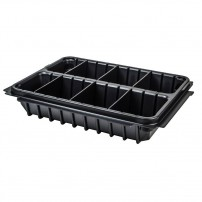 Makita P-83680 Organiser Insert 2x Compartments / 6x Dividers for MAKPAC Type 1 Cases