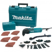 Makita TM3000CX3 320W Multi Cutter inc 62 Accessories
