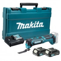 Makita TM30DWAE 10.8v CXT Slide Multi Cutter Tool inc 2x 2.0Ah Batts