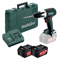 Metabo SB 18 LT 2-Speed 18v Combi Drill inc 2x 4.0Ah Batts in Carry Case