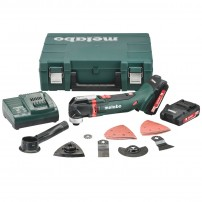 Metabo MT 18 LTX Compact 18v Cordless Multi-Tool inc 2x 2.0Ah Batts & x16 Accessories