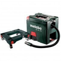 Metabo AS 18 L PC Cordless MetaLoc Vacuum Body Only with Dolly Trolley