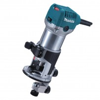 """Makita RT0700CX4 1/4"""" Router / Laminate Trimmer with Trimmer Guide"""