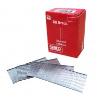 Senco RX25EAA 16g x 65mm Galvanized Straight Brad Nails x2000 Pcs