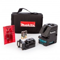 Makita SK103PZ 4-Point Self Leveling Cross Line Laser Level/Point Laser Kit