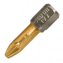 Trend SNAP/IPZ3/10 Trend Snappy 25mm bit pz No.3 ten Titanium coating