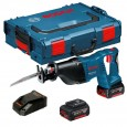 Bosch GSA 18 V-LI 18v Professional Reciprocating Saw inc 2x 4.0Ah Batts
