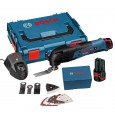 Bosch GOP 10.8 V-LI Multi Cutter inc 2x 2.5Ah Batts + 8 Accessories