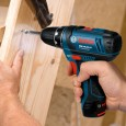 Bosch GOP & GSR 10.8v Multi Cutter & Drill Driver Twin Kit inc 2x 1.3Ah Batts & Charger in L-Boxx