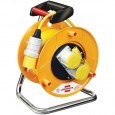 Brennenstuhl 1148773 Garant Heavy Duty 2-Socket Extension Cable Reel 25 Metre 110v