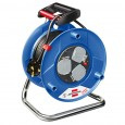 Brennenstuhl 1218053 Garant Heavy Duty 3-Socket Extension Cable Reel 25 Metre 240v