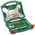 Bosch Titanium 50 Piece X-Line Drill & Screwdriver Bit Set + Accessories 2607019327