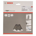 Bosch Top Precision Saw Blade 165 x 20mm x 20T Wood 2608642385