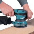 Makita BO5041 125mm Random Orbit Sander with Esc & Front Grip